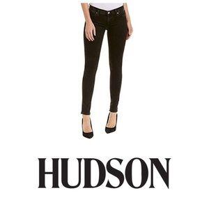 Hudson krista super skinny black jeans